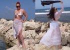 Marta Grycan z c�rk� na wakacjach. W bikini. My jednak patrzymy na Victori�
