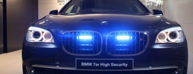 BMW 7 High Security