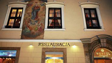 Restauracja i hotel Wentzl na Rynku Głównym w Krakowie