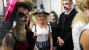 Zeszłoroczna zabawa z okazji Halloween w Zasadniczej Szkole Zawodowej w Lublinie