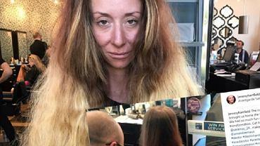 Nie uwierzycie, jak ta kobieta wyglądała po wizycie u fryzjera