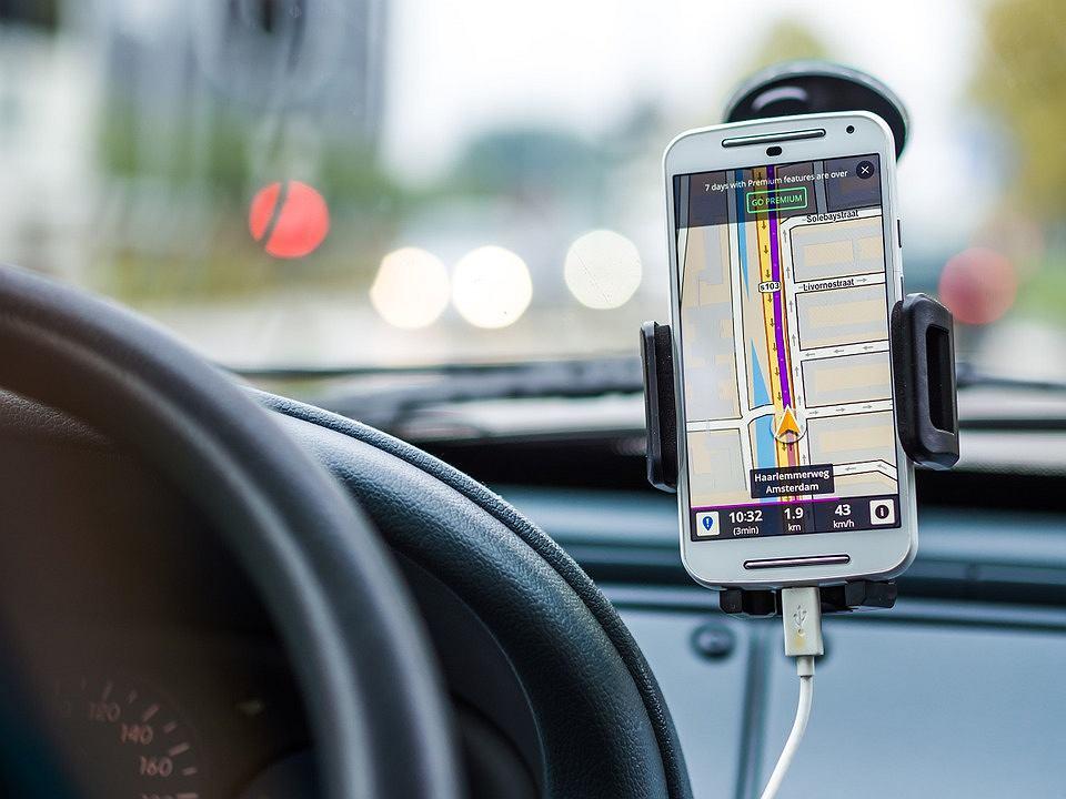 Nawigacja w smartfonie