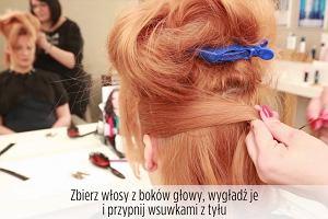 Fryzury dla krótkich włosów: elegancki irokez