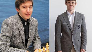 Siergiej Karjakin i Magnus Carslen