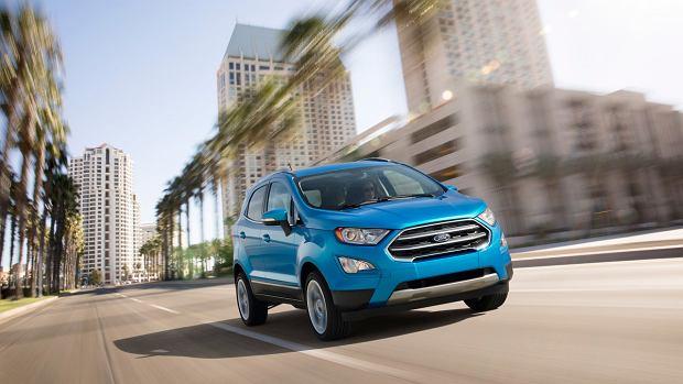 Salon Los Angeles 2016 | Ford EcoSport | Mały SUV dla Ameryki