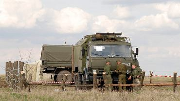 Rosyjskie jednostki w pobliżu granicy z Ukrainą