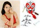 """""""Red"""" Hong Yi jest artystką, która tworzy niezwykłe obrazki za pomocą... kosmetyków. Piękne?"""