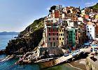 Piaszczyste plaże, urwiska i domy jak z bajki: Cinque Terre [WŁOCHY]