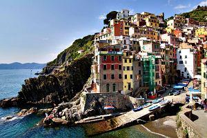 Piaszczyste pla�e, urwiska i domy jak z bajki: Cinque Terre [W�OCHY]
