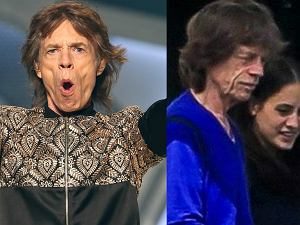 Mick Jagger z partnerką