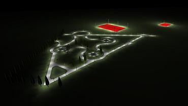 Park Rataje - wizualizacja projektu
