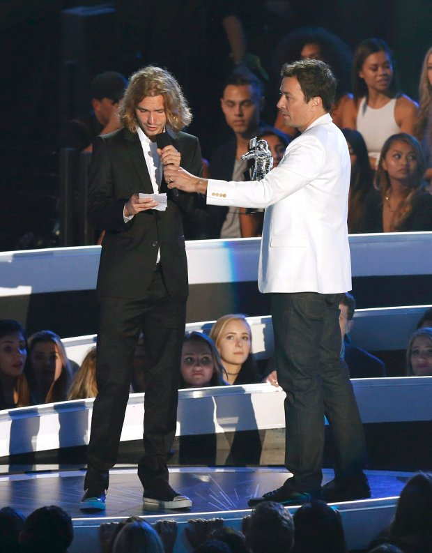 Jesse, Jimmy Fallon, MTV VMA 2014