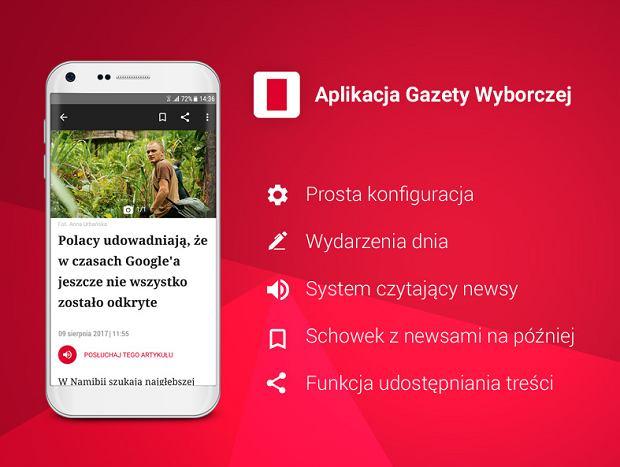 Pobierz nową wersję aplikacji Gazety Wyborczej!