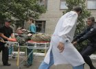 Przera�aj�ca sytuacja rannych ukrai�skich �o�nierzy. Nawet 18 godzin w oczekiwaniu na pomoc