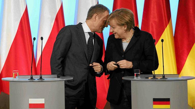 Polityczna przyjaźń polsko-niemiecka: Donald Tusk i Angela Merkel