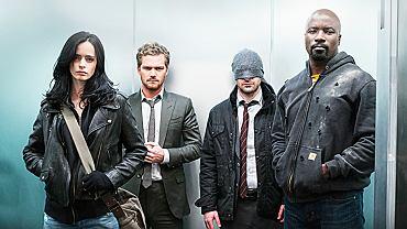 bohaterowie serialu 'Defenders'