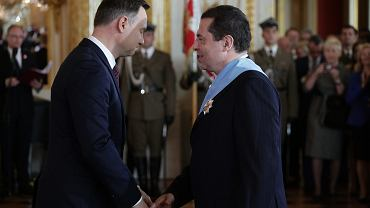 Bronisław Wildstein i Andrzej Dyda