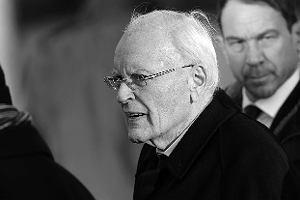 Zmarł były prezydent Niemiec Roman Herzog. Przeprosił Polaków za niemieckie zbrodnie