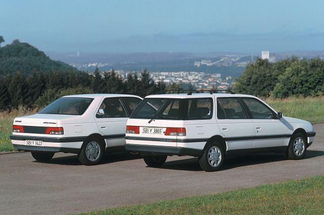 50. Peugeot 405 (1988-1997) - 3,461,800 szt.