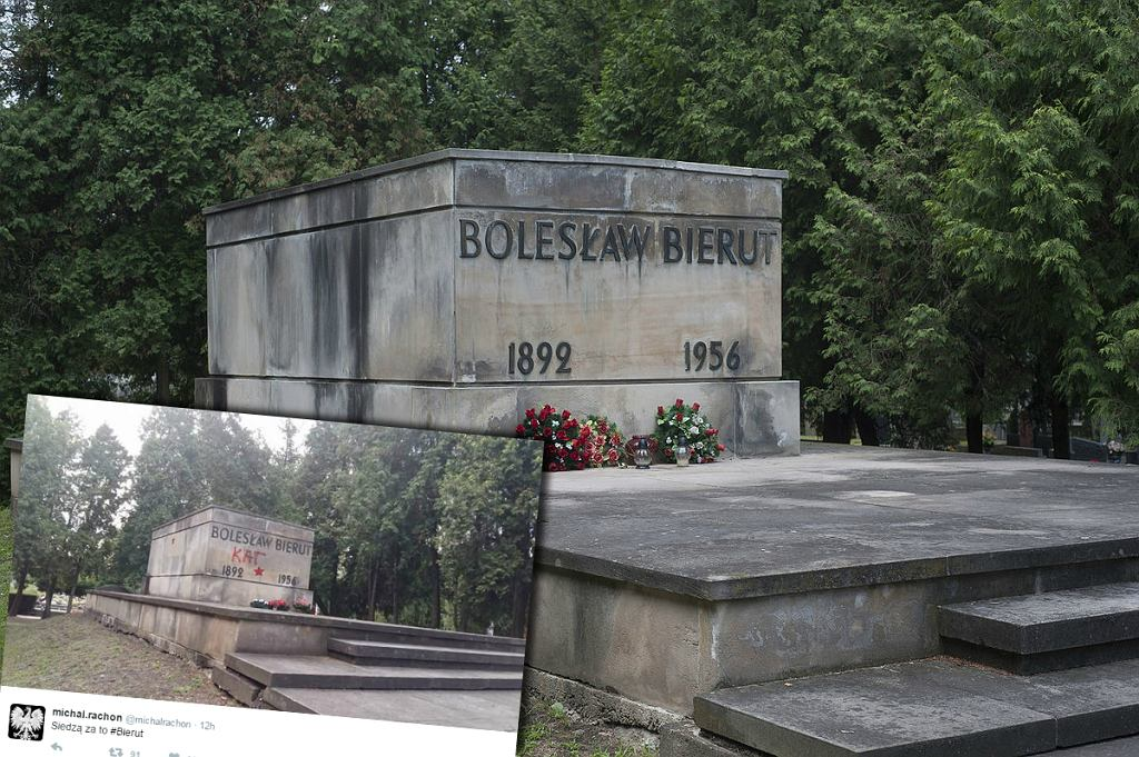 Grób Bolesława Bieruta