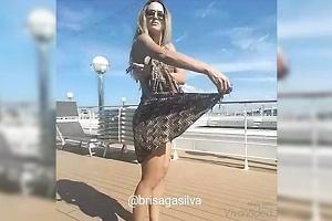 Ta Brazylijka umie wiązać pareo na dziesiątki sposobów. Jej filmiki to hit Instagrama
