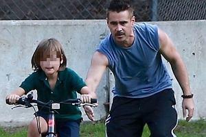 Colin Farrell i jego syn, Henry Tadeusz
