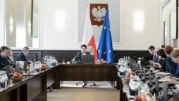 Posiedzenie rządu Beaty Szydło.