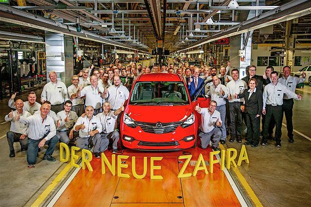 Opel Zafira | Ruszy�a produkcja nowego minivana