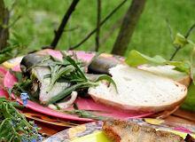 Filety z sandacza ze słoniną - ugotuj