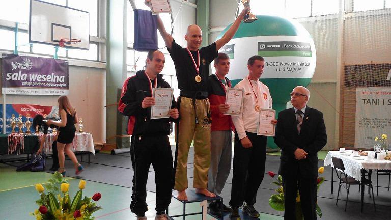 Na najwyższym stopniu podium Piotr Maślanka