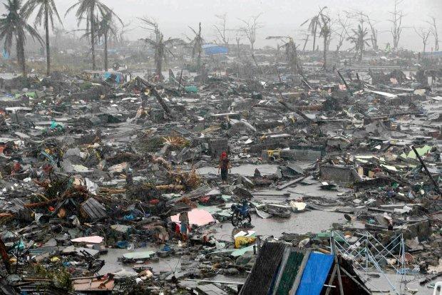 Po przej�ciu tajfunu na Filipinach