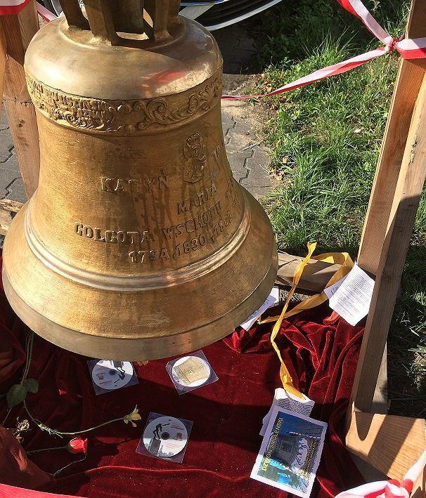 Dzwon smoleński na Ursynowie
