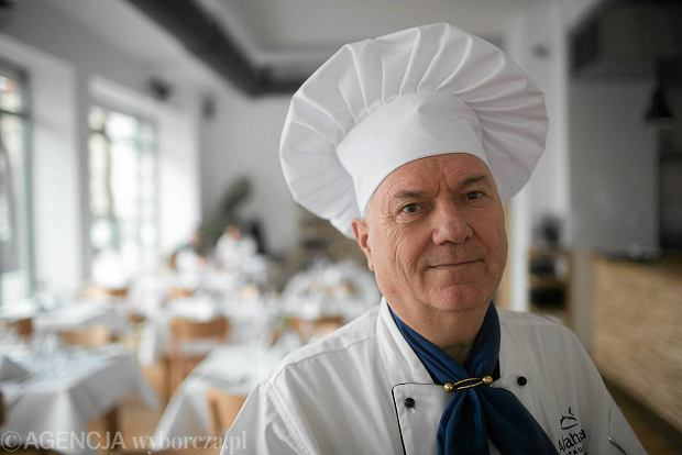 George Todorov, szef kuchni w restauracji Abrahama