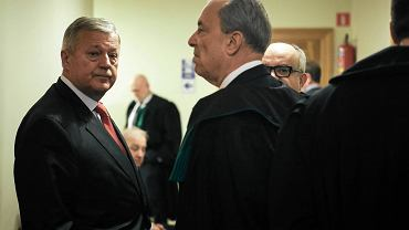 Jerzy Jędykiewicz we wtorek w Sądzie Apelacyjnym w Gdańsku (pierwszeyod lewej)