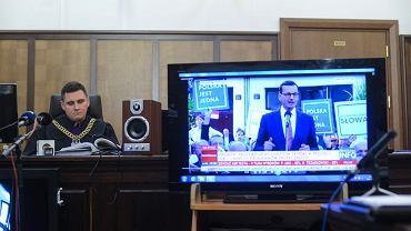 Rozprawa w trybie wyborczym ws słów premiera Morawieckiego.