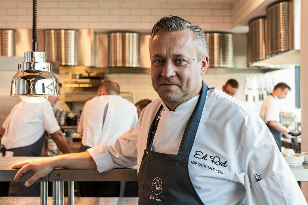 Adam Chrząstowski, szef kuchni restauracji Ed Red. / Fot. Dawid Zuchowicz / Agencja Gazeta