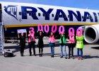 Lotnisko w Modlinie: 3-milionowy pasa�er Ryanaira w porcie