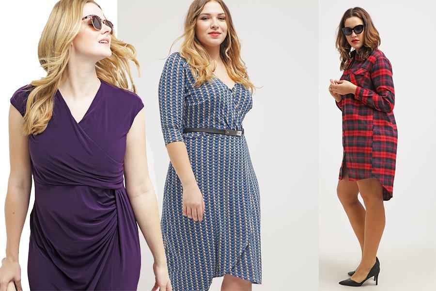 Idealne sukienki na duże rozmiary - jakie fasony wybierać 7542fec524