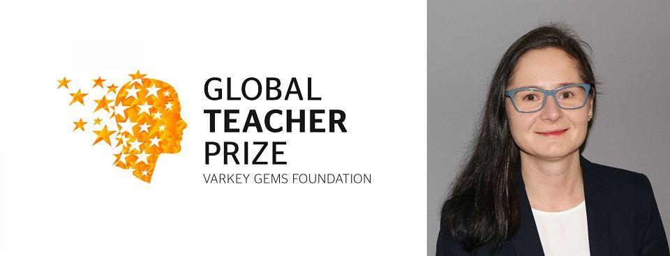 Barbara Anna Zielonka finalistka konkursu Global Teacher Prize.