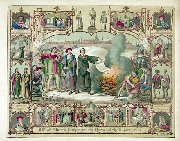 martin luther and the refromation Martin luther and the reformation  by nailing his theses to the church door, luther was not acting as a heretic he was simply inviting other.