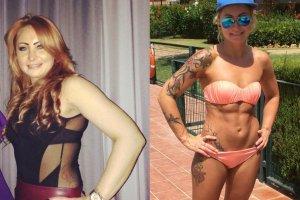 Trzydziestolatka zmieniła rozmiar z 42 na 34 bez postawienia stopy na siłowni. Jak to osiągnęła?