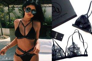 Kylie Jenner na basenie w bieli�nie polskiej marki. Jak nowo�ci od God Save Queens trafi�y na Instagram gwiazdy?