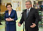 Premier Ewa Kopacz i prezydent Bronisław Komorowski w Radomiu