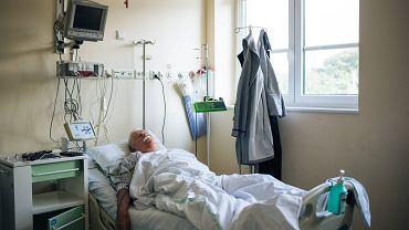 Lech Wałęsa w Uniwersyteckim Centrum Klinicznym.