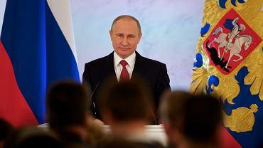 Władimir Putin w swym dorocznym orędziu do parlamentarzystów Rosji nie zapowiedział żadnej ważnej inicjatywy międzynarodowej