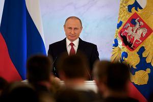 """Orędzie Putina wypadło blado. """"Jeśli rzecz nie jest o wojnie, on nie ma nic do powiedzenia"""""""