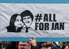 Dziwne przypadki w śledztwie w sprawie morderstwa Jana Kuciaka. Policja zwabia dziennikarkę i konfiskuje jej materiały