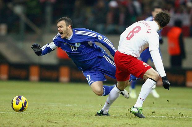Grzegorz Krychowiak i Andy Selva, Polska - San Marino
