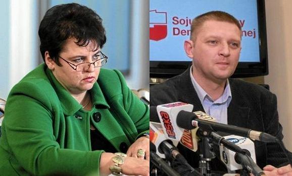 Marzena Wróbel i Andrzej Rozenek
