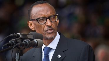 Prezydent Rwandy Paul Kagame